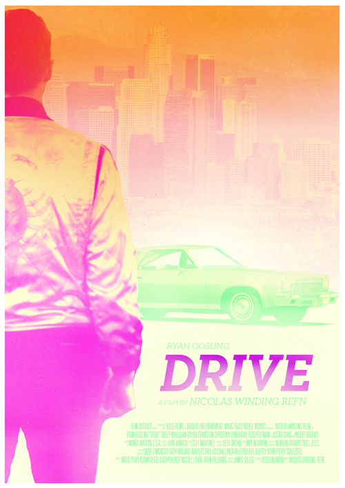 minimalmovieposters:  Drive by Visual Etiquette Print available here