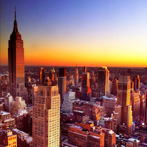 #beautiful #Manhattan #NYC #photography #sunrise #Empire State Building (uploaded with Streamzoo.com)Gorg shot of #NYC from my @streamzoon friend