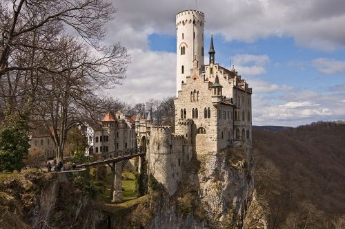 Castle Lichtenstein, Baden-wuttemberg, Germany.