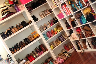 fe-rless:  if i had all these shoes I'd never leave my closet.