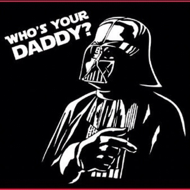 Who is ur daddy?? #starwars #darthvader #nigga #friki #geek #freak #nerd #girona #spain #winter #nofilter #igers #igersgirona #igersspain #iphonesia #instagramhub #photooftheday #art #instagram #instamood #bestoftheday #picoftheday #igdaily #jj  (Taken with instagram)