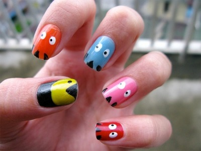Pac_man Nails