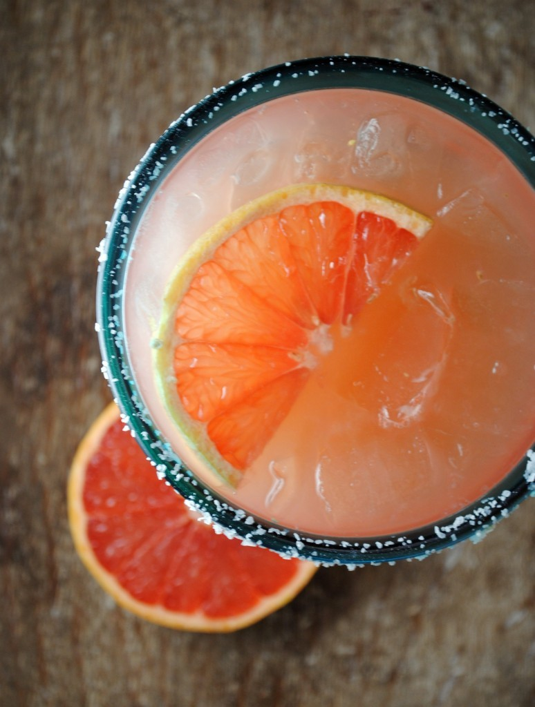 grapefruit margarita.
