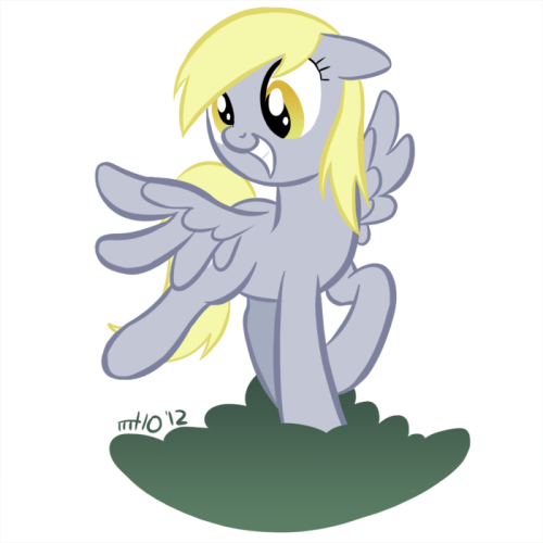 """I just don't know what went wrong!"" Canon Derpy is best Derpy."