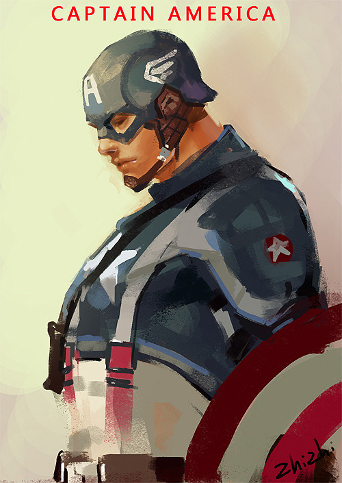 Captain america by zhizhi