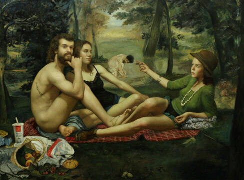 Cesar Santos, Picnic in Central Park