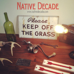 New items up later today in the Native Decade online store!