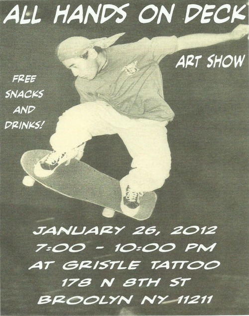 "Flyer for the art show that the ""Go Vegan"" Board will be in. It's in Ny so all NY/NJ friends/followers please reblog and attend!!!"