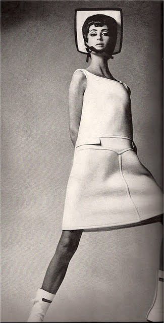space-age-planet:  André Courrèges Fashion, 1960s