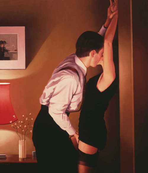 Game On by Jack Vettriano