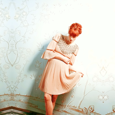 for-redheads:  Florence and the Machine by Wendy Lynch Redfern for Under the Radar Magazine