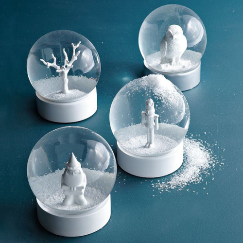 Design Crush » Snow Globes