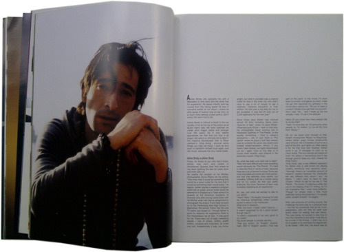 2006 | BLAG Vol.2 Nø 4 Adrien Brody cover feature