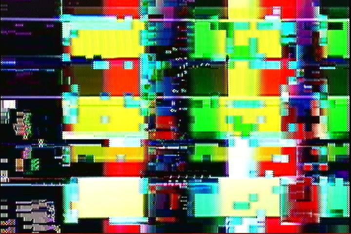 028 of 366 Still image captured from the output of a DVD player.  Either the data I encoded to the DVD was corrupt (source was abstract to begin with), or the DVD was unable to handle the data rate (over 8MBps).