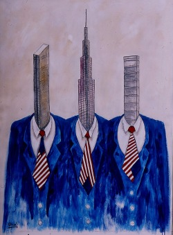 ymutate:  Oudi Arroni: Wall Street, found at saatchionline.com