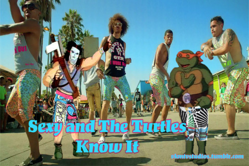 vkmtvstudios:  The Turtles, Sexy and they Know It!