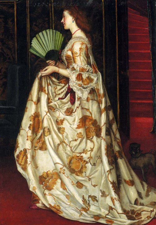 flyingodiva:  Valentine Cameron Prinsep, My Lady Betty, 1864