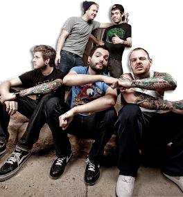 """I'll make my stand, right here. .with my friends"" - ADTR"