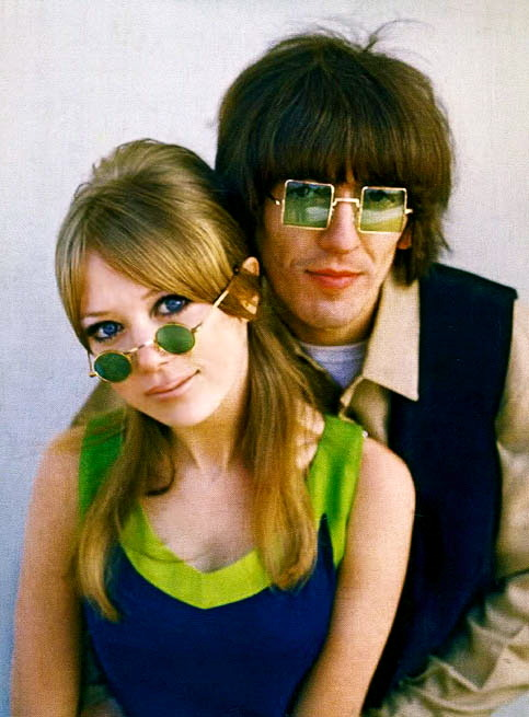 lynxolita:  Pattie Boyd and George Harrison