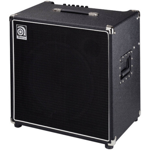 This is the Ampeg BA11HP 220w Bass combo amp It is currently my dream amp, it's also the amp I first tested my beloved P bass on. I'm veeeeery slowly working my way towards the £500 i need to buy it… one day… one day…