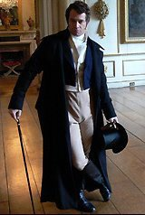 The indecently,  devilishly handsome James Purefoy as the daring dandy and all-round sartorial demigod,  Beau Brummel.