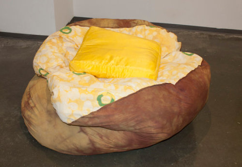 amazing potato bean bag!
