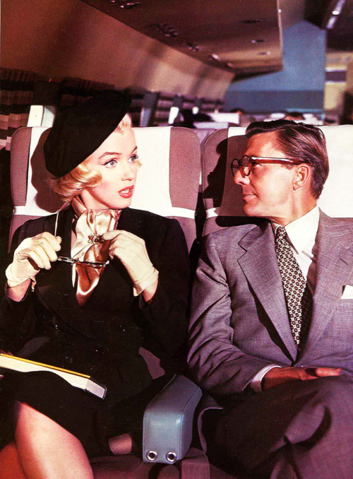 vintagesonia:  Marilyn Monroe and David Wayne in How to Marry a Millionaire (1953)