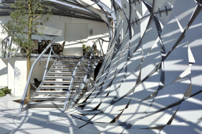 (via Three-dimensional Fence / Salli Architekten - eVolo | Architecture Magazine)