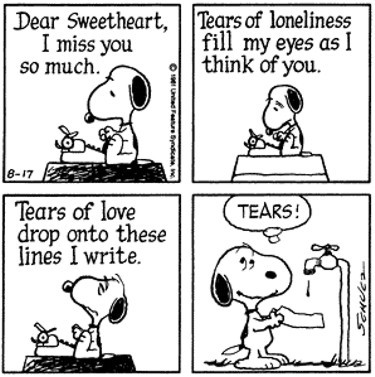 thespacemansaid:  stolethekey:  Oh Snoopy ♥  D'aww