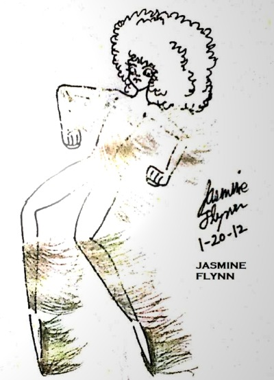 Shine Girl. a traditional/digital drawing by me, Jasmine Flynn :)