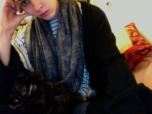 Dinnertime tumbling with the kitten. Then editing some pieces for Danielle. Then speeding through The Year of the Flood because I also just got 1Q84 from the library and I only get them for 14 days.