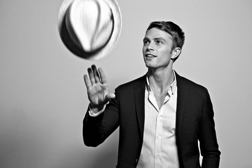 Wilson Bethel is mad hot. That's not really a question. And part of it is because he has this smile that takes up his whole face, and that's something that I can't resist. Except…man, are his teeth white. They're, like, freakishly white. They're so over-processed that sometimes it freaks me out to look at him, in the same way that I avert my eyes during that Seinfeld episode with Illeana Douglas. I'm still Team Wade, though.
