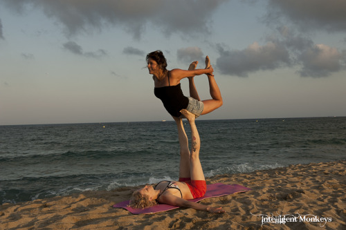 Some AcroYoga on the beach