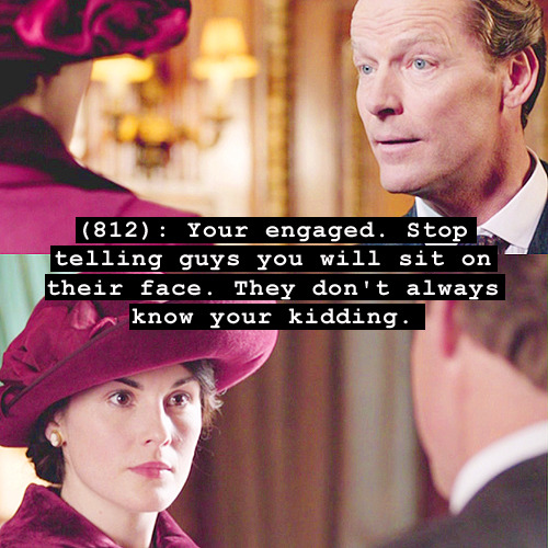 huffpostcomedy:  Telegrams from Downton