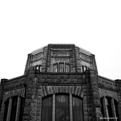 Closed. Crown Point Vista House, Oregon. 2011.