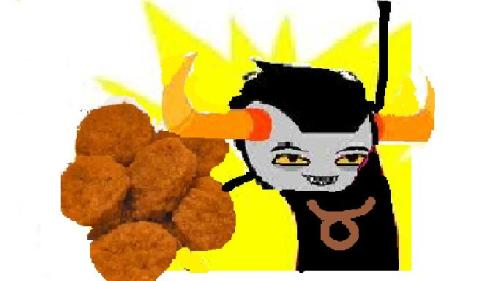 EAT ALL THE CHICKEN NUGGETS!