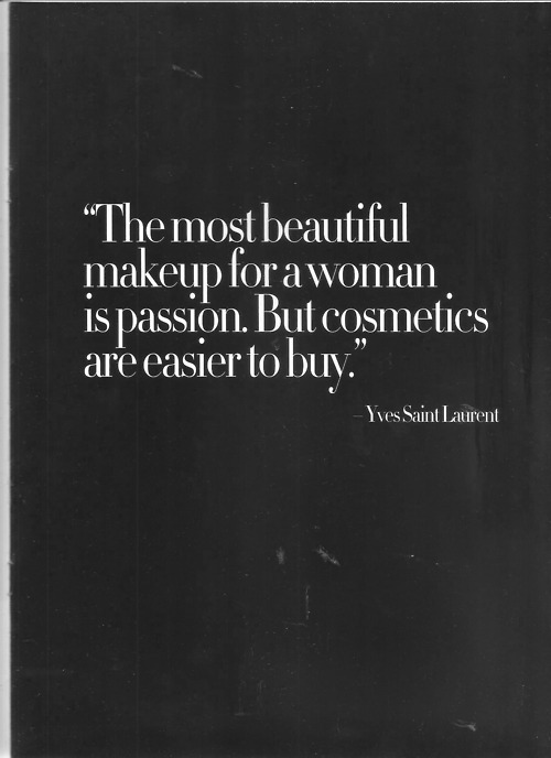The truth. Yves Saint Laurent was a pimp… low-key