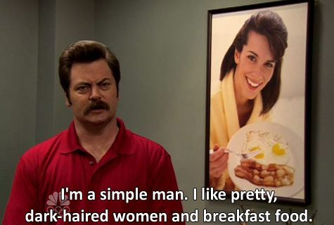 Ron Swanson knows what's up