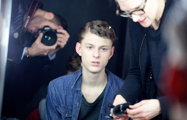 John Lawrence Sullivan FW2012 backstage