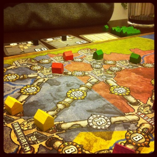Power Grid #boardgame #gamenight  (Taken with instagram)
