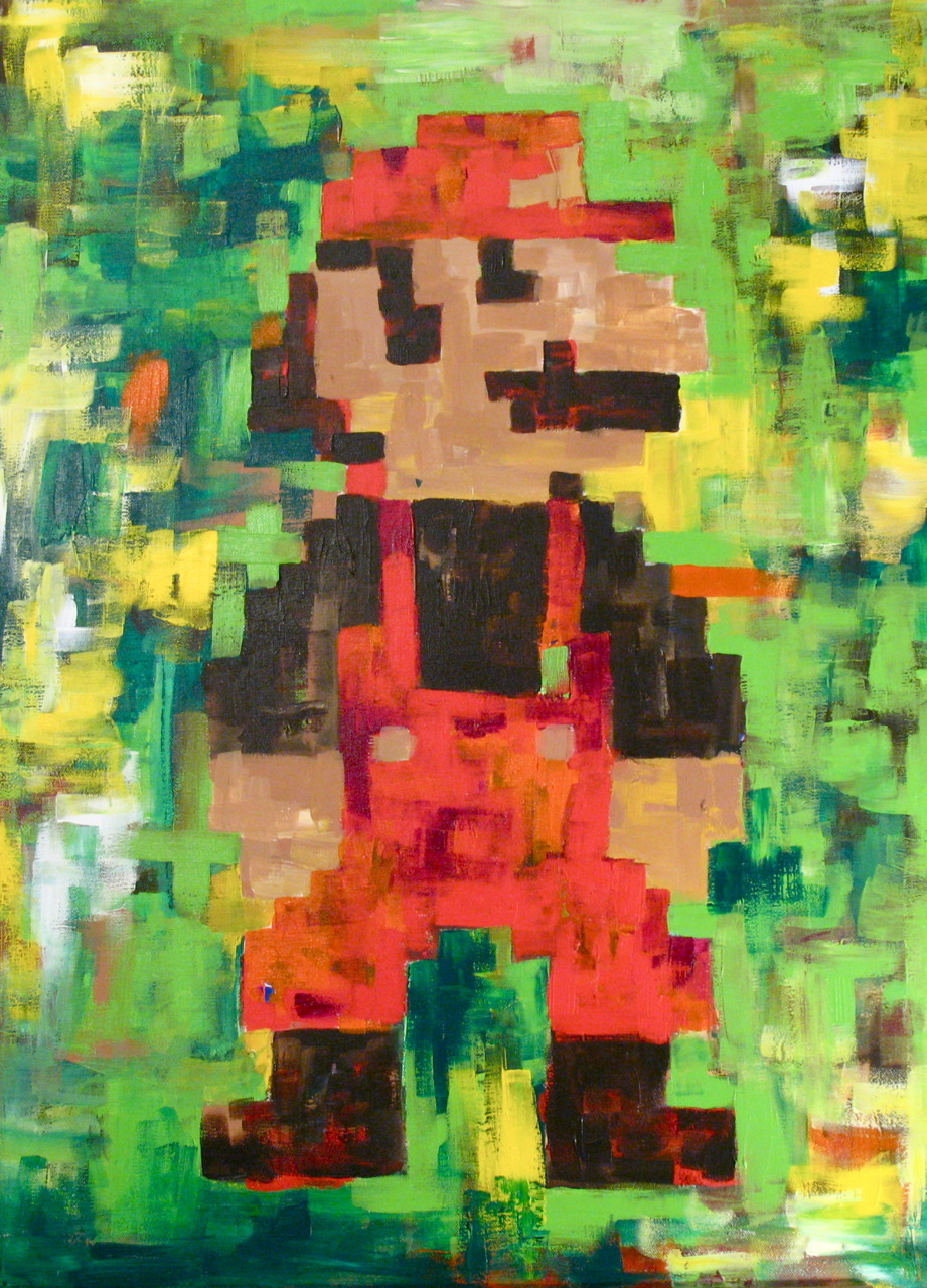 Mario 2 of 2 - by Adam Welker