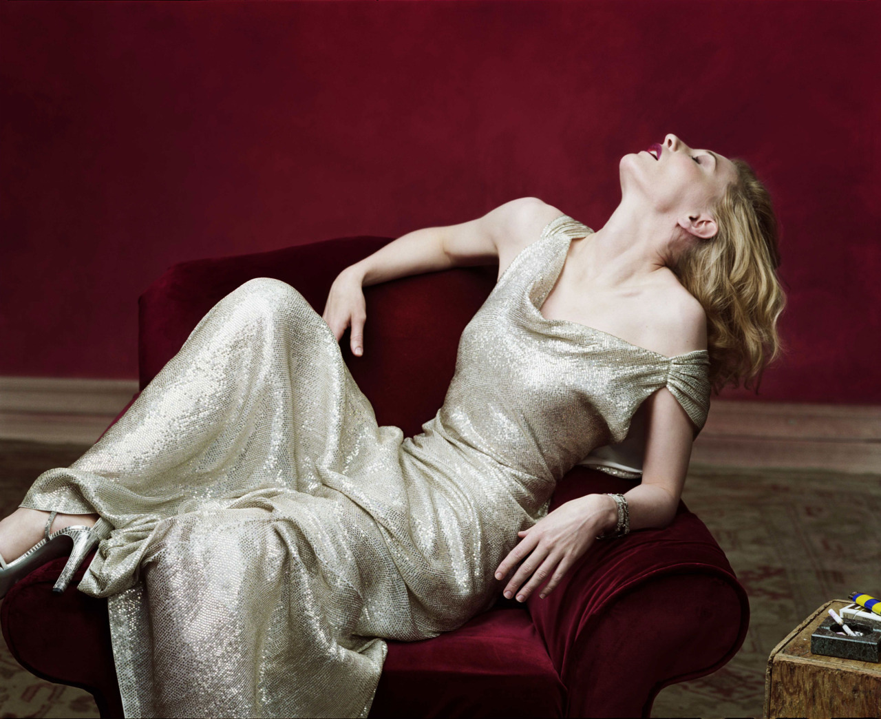 Cate Blanchett - Vogue by Annie Leibovitz, December 2004