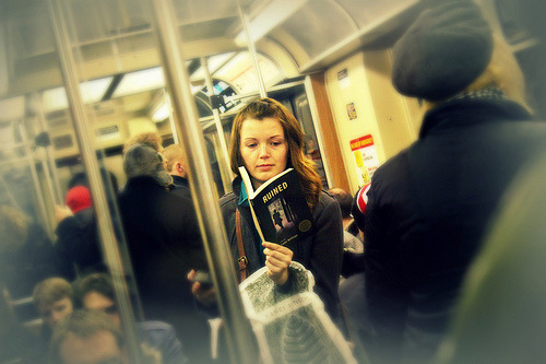 teachingliteracy:</p> <p>Reading on the train (by vuttaro)<br /> &#8221; />Not restricted to Government. What do you think about health care?</p> <p>Found at <a href=