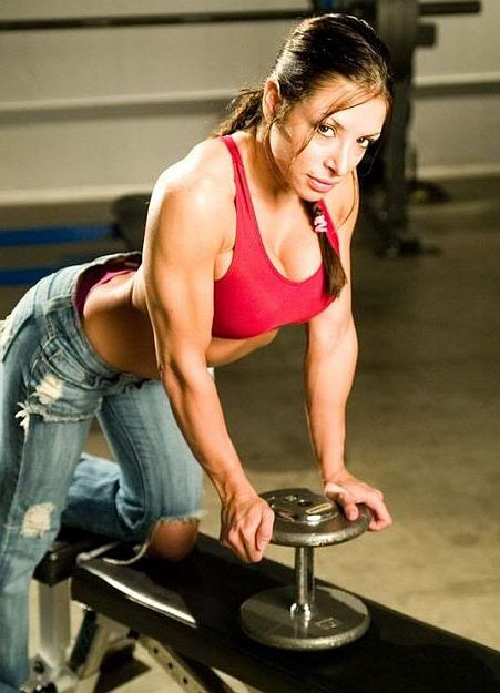Erika Thompson - female personal trainer by sabrebiade on Flickr.