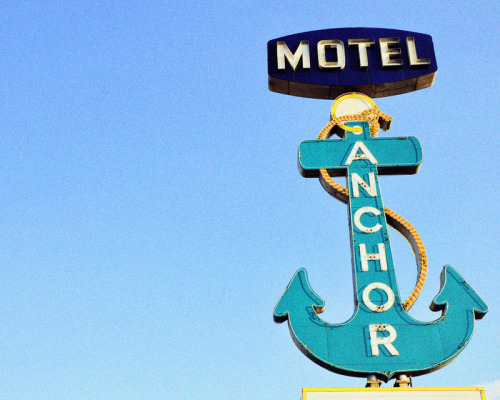 Anchor Motel, Dallas, Texas ©2011 Melissa Martinez Photography on Society6 and Etsy