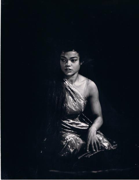 "birthofaphrodite:  Eartha Kitt in Oscar Wilde's ""Salome"", 1955."