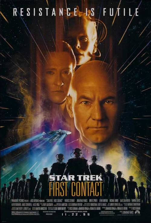 Currently Watching. This is probably my favorite Star Trek film which is odd considering I was never much of a Borg fan.
