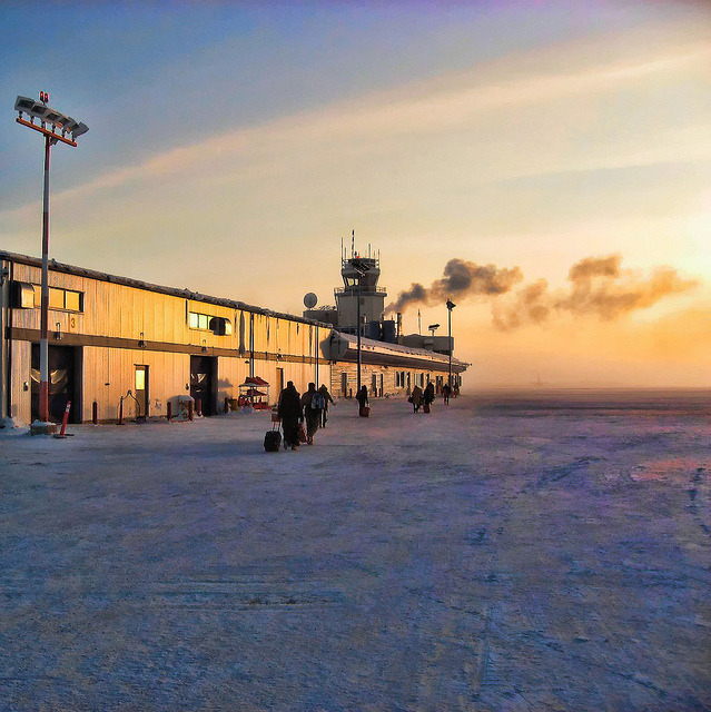 | ♕ |  Northern Airport - Yellowknife, Canada  | by © Piero Damiani