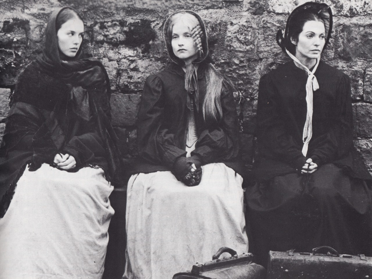 paperspots:  The Bronte Sisters with Isabelle Adjani, Isabelle Huppert, and Marie-France Pisier (1979).