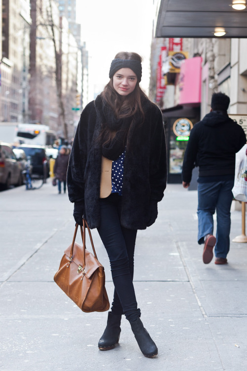 Olga @ MUSE  5th Avenue and 14th Street January 20, 2012